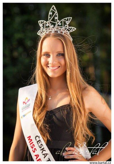 Aneta Filípková Česko - slovenská tipsport Miss aerobik